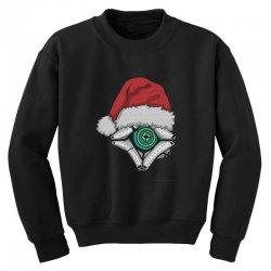 christmas ghost 1 Youth Sweatshirt | Artistshot