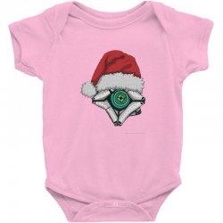 christmas ghost 1 Baby Bodysuit | Artistshot