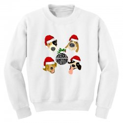 christmas puppies Youth Sweatshirt | Artistshot