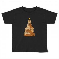 christmas tree poodle Toddler T-shirt   Artistshot