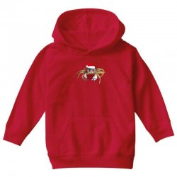 crabby christmas,hapy holidays Youth Hoodie | Artistshot