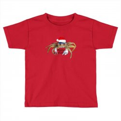 crabby christmas,hapy holidays Toddler T-shirt | Artistshot