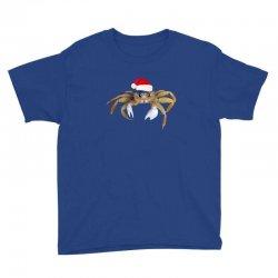 crabby christmas Youth Tee   Artistshot