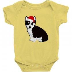 cute baby husky dog Baby Bodysuit | Artistshot