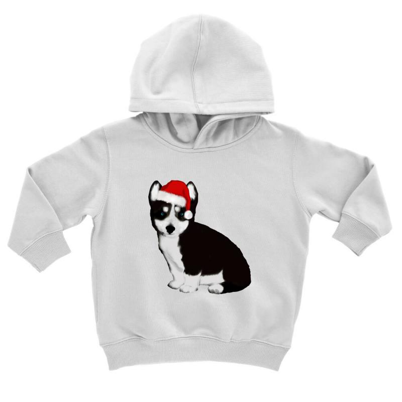 Cute Baby Husky Dog Toddler Hoodie | Artistshot