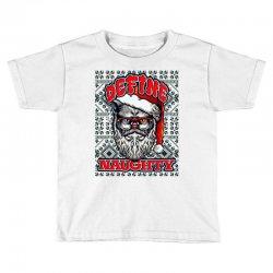 Define naughty christmas edition Toddler T-shirt   Artistshot