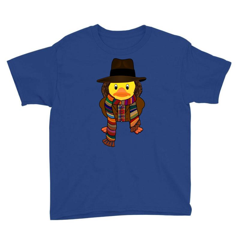 Rubber Duck Dr Who Tom Baker Youth Tee | Artistshot