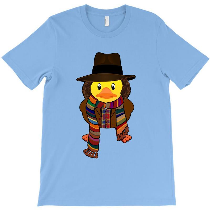 Rubber Duck Dr Who Tom Baker T-shirt | Artistshot