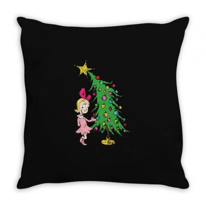 I've Been Cindy Lou Who Good Throw Pillow Designed By Mirazjason