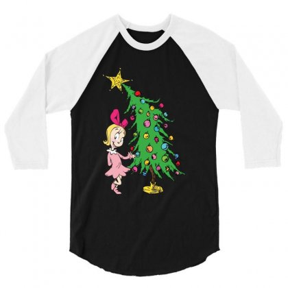 I've Been Cindy Lou Who Good 3/4 Sleeve Shirt Designed By Mirazjason