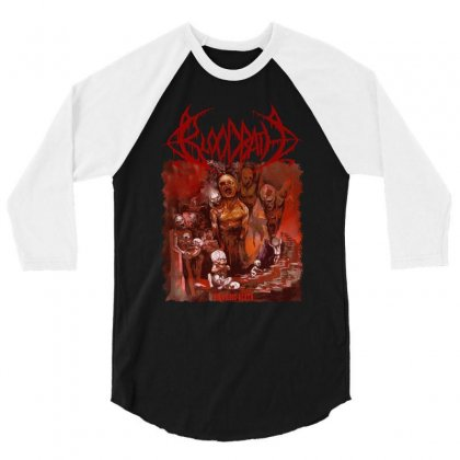 Bloodbath Breeding Death Edge Of Sanity 3/4 Sleeve Shirt Designed By Fanshirt