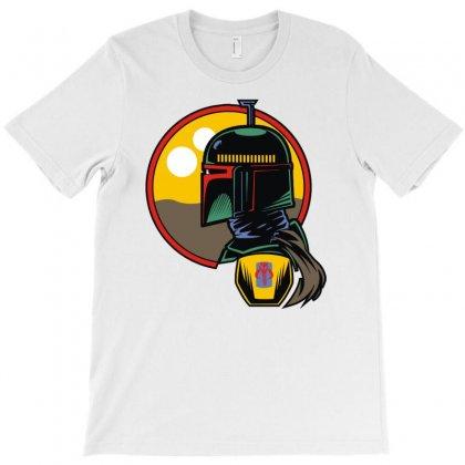 Boba Fett Desert T-shirt Designed By Fanshirt