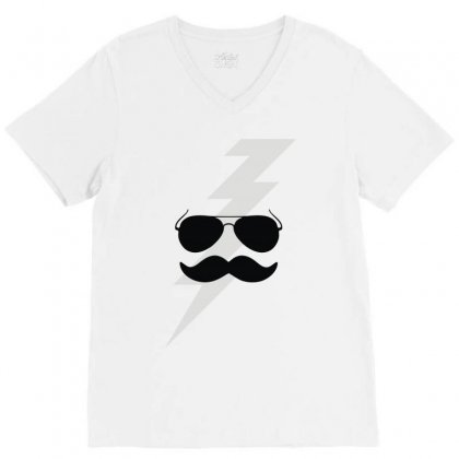 Boots Electric V-neck Tee Designed By Fanshirt