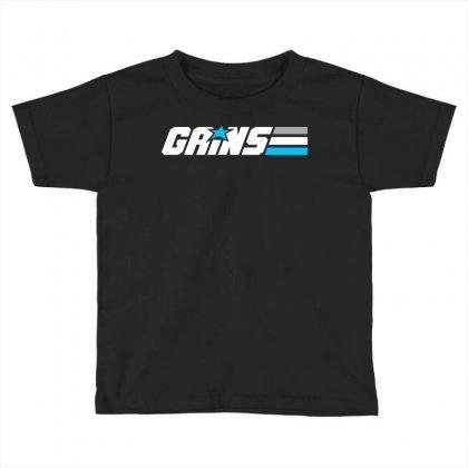 Gains Joe Toddler T-shirt Designed By Blackheart