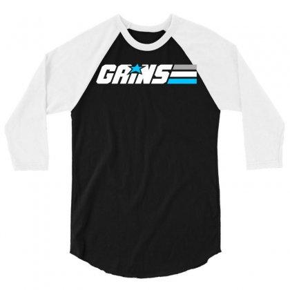 Gains Joe 3/4 Sleeve Shirt Designed By Blackheart