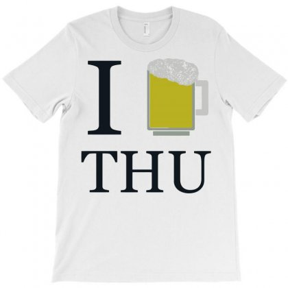 Thirsty Thursday T-shirt Designed By B4en1