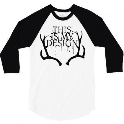 Aperitif 3/4 Sleeve Shirt Designed By Mdk Art