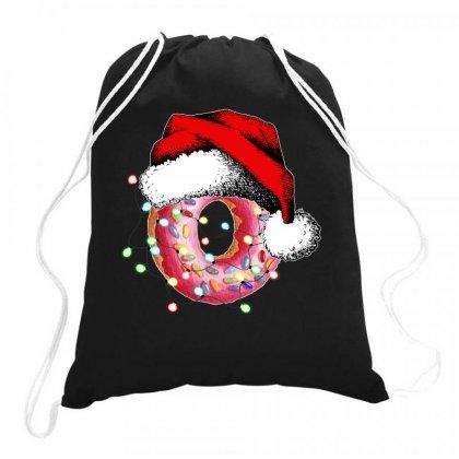 Christmas Donut Drawstring Bags Designed By Neset