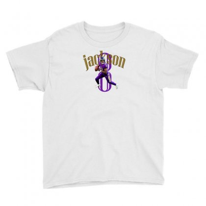 Football Jackson 8 Youth Tee Designed By Abidostore