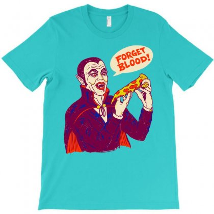 Vampizza T-shirt Designed By Artwoman