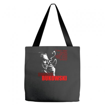 Charles Bukowski Tote Bags Designed By Lyly