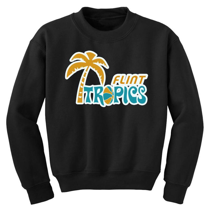 Flint Tropics Retro Youth Sweatshirt | Artistshot