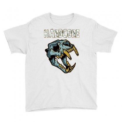 Hardcore T Shirt Youth Tee Designed By Bluebubble