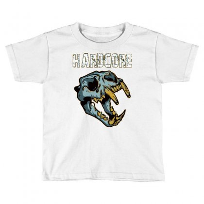 Hardcore T Shirt Toddler T-shirt Designed By Bluebubble