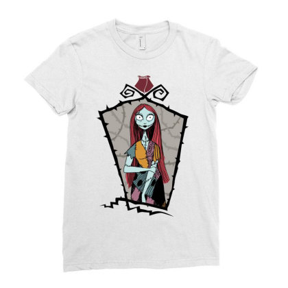 Corpse Ladies Fitted T-shirt Designed By Estore
