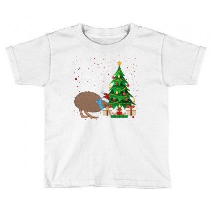 Kiwi Bird Christmas For Light Toddler T-shirt Designed By Sengul