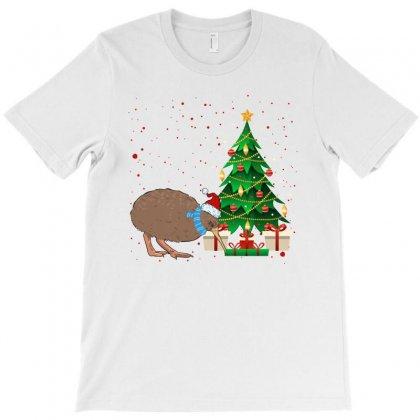 Kiwi Bird Christmas For Light T-shirt Designed By Sengul