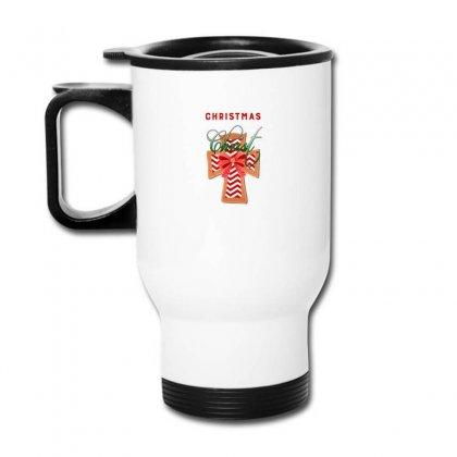 Christmas Begins With Christ For Dark Travel Mug Designed By Zeynepu
