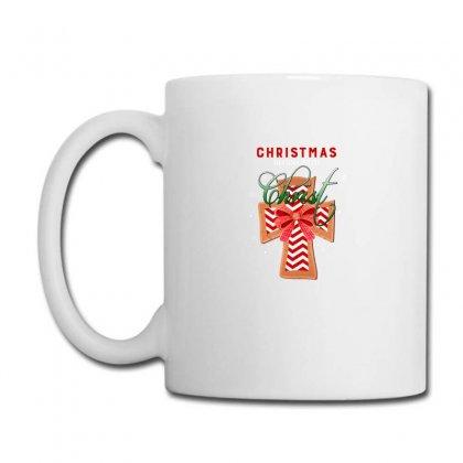 Christmas Begins With Christ For Dark Coffee Mug Designed By Zeynepu