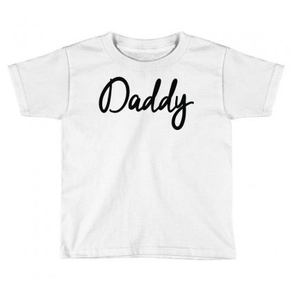 Daddy Toddler T-shirt Designed By Mdk Art