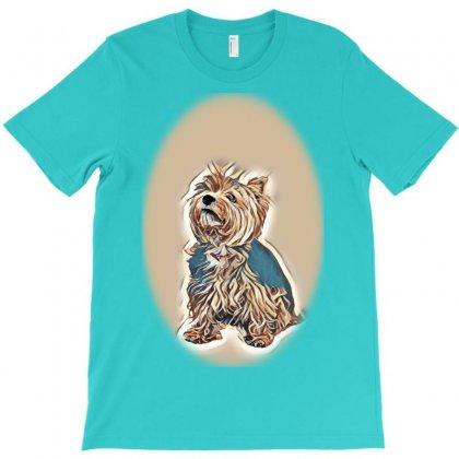 Land White Terrier T-shirt Designed By Kemnabi
