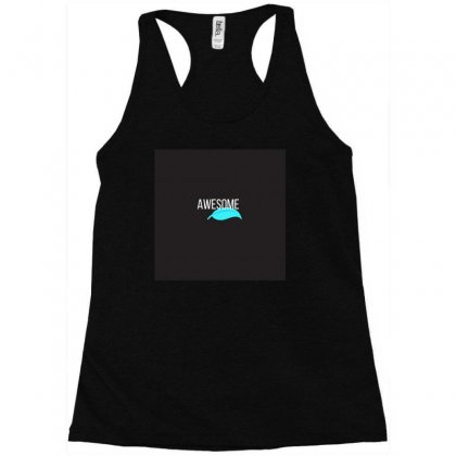 Alphabet Series A For Awesome Racerback Tank Designed By Devika888