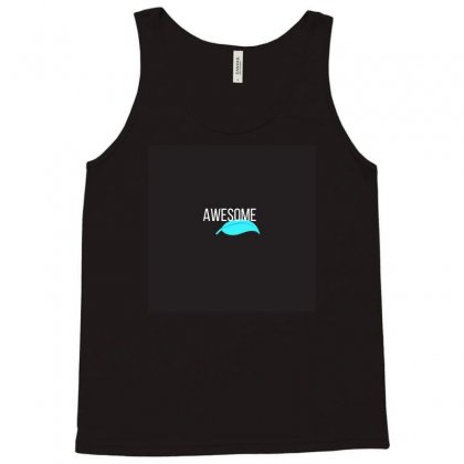 Alphabet Series A For Awesome Tank Top Designed By Devika888