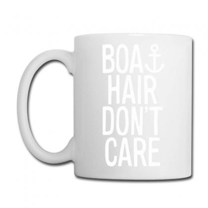 Boat Hair Don't Care Funny Coffee Mug Designed By Candrashop