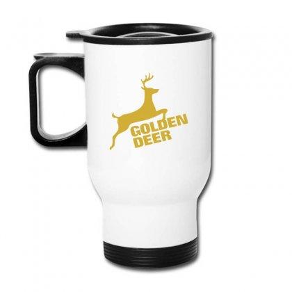 Golden Deer Emblem Travel Mug Designed By Michelziud
