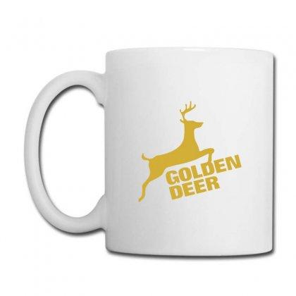 Golden Deer Emblem Coffee Mug Designed By Michelziud