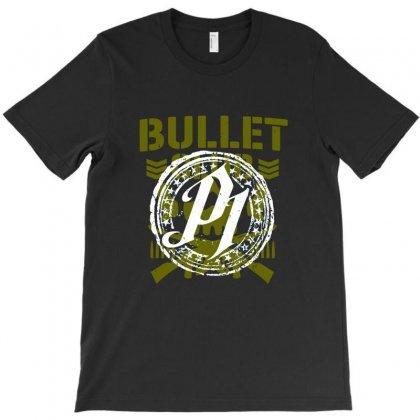 Aj Style Bullet Club T-shirt Designed By Pujangga45