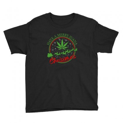 Have A Merry Juana Christmas Youth Tee Designed By Neset