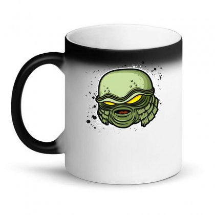 Creature From The Black Lagoon Magic Mug Designed By Fanshirt