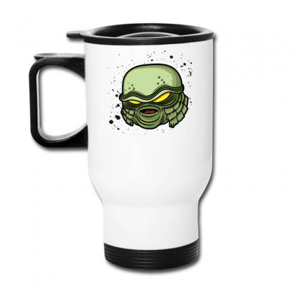 Creature From The Black Lagoon Travel Mug Designed By Fanshirt