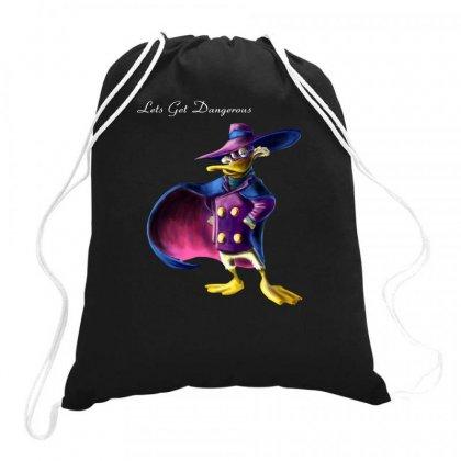 Darkwing Duck Lets Get Cartoon Drawstring Bags Designed By Fanshirt