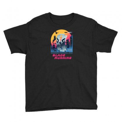 Blade Running Youth Tee Designed By Baron