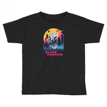 Blade Running Toddler T-shirt Designed By Baron