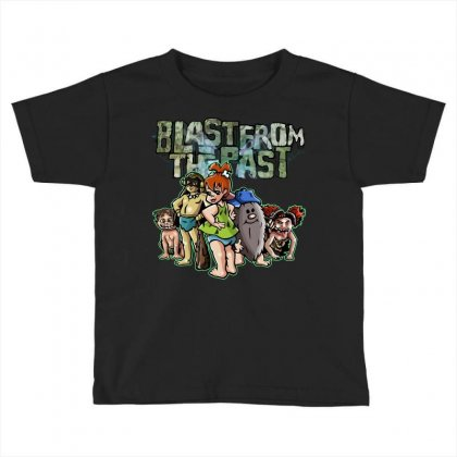 Blast From The Past Toddler T-shirt Designed By Baron