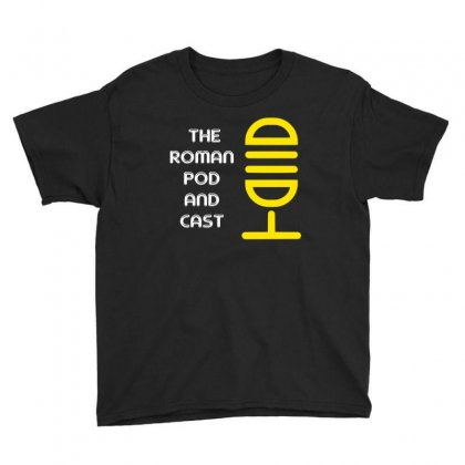 Roman Pod Youth Tee Designed By Blackheart