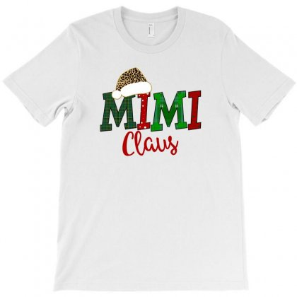 Mimi Claus Plaid And Polkadot For Light T-shirt Designed By Zeynepu